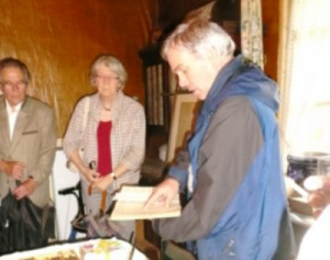 Johannes Müller berichtet über die Geschichte des Gutes