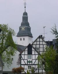 Ehemalige Schlosskirche im Zentrum von Nümbrecht