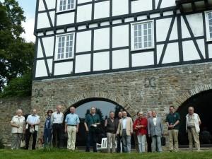 BGV Mitglieder vor Haus Varresbeck IV