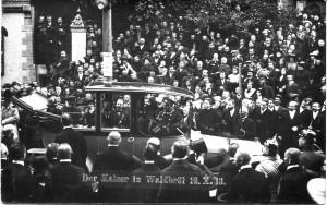 Der Kaiser in Waldbröl, 16.10.1913