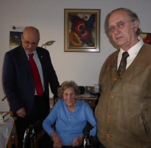 Dr. Alexander Rothkopf, Lotte Bauer, Dieter Forst
