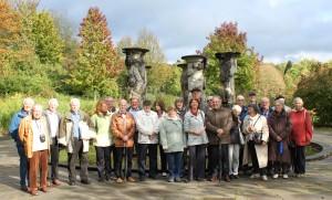 Gruppenfoto im Kurpark