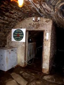 Reste der einstigen Destillerie.