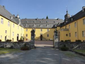 Schloss Melschede - Innenhof