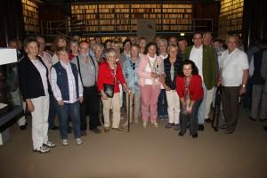 BGV-Gruppe in der Bibliothek, Wolfenbüttel