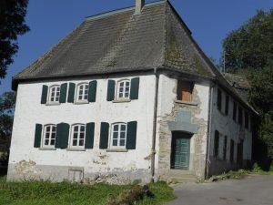 Burg Helberg in Renovierung