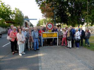 BGV-Reisegruppe in Schengen