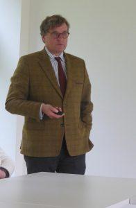 Vortrag von Herrn Deselaers über Schloss Ehreshoven und die Forstwirtschaft