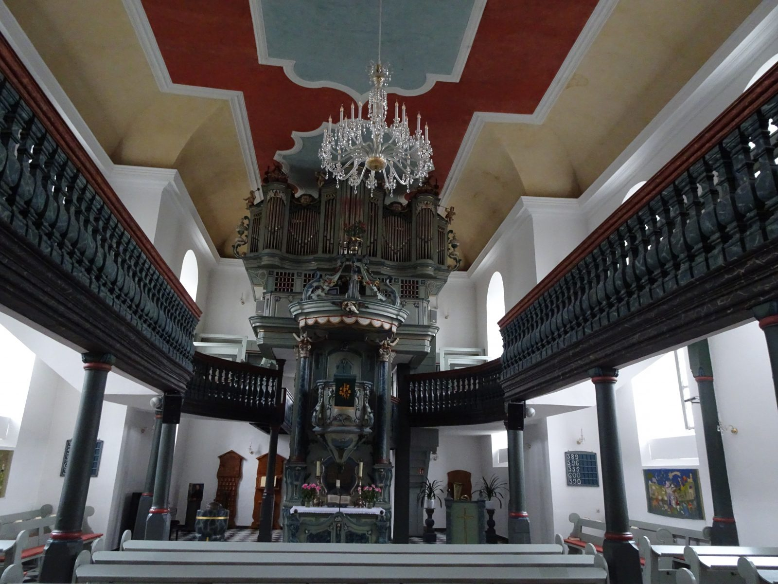 Eckenhagen Evang. Kirche-Prinzipalstück