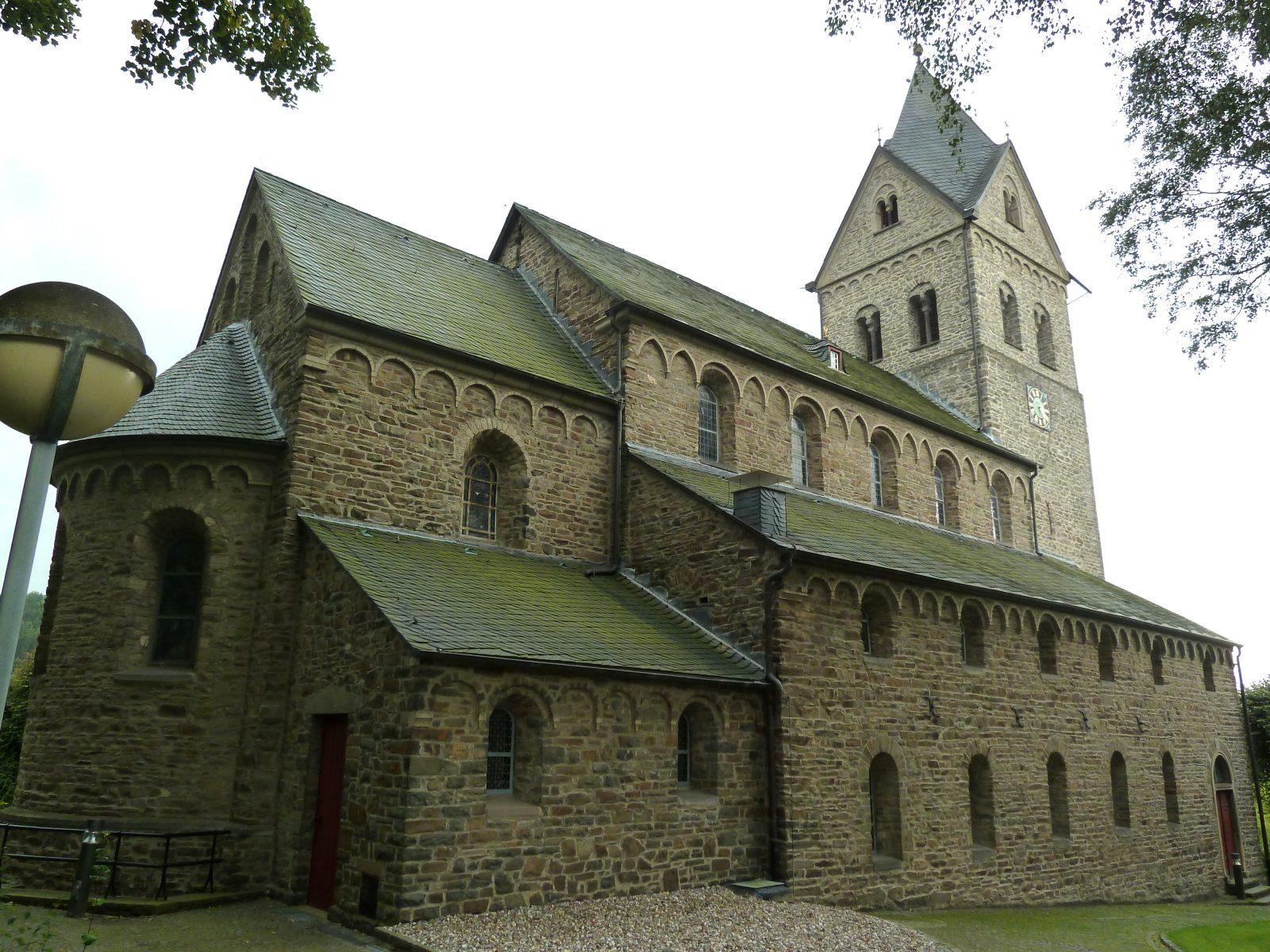 Morsbach roman. Basilika St. Gertrud