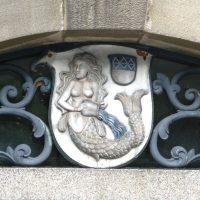 Hülsenbusch Wappen am alten Rathaus