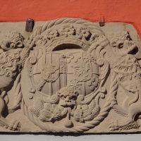 Wappen Sayn Mentola am Roten Haus Schloss Homburg